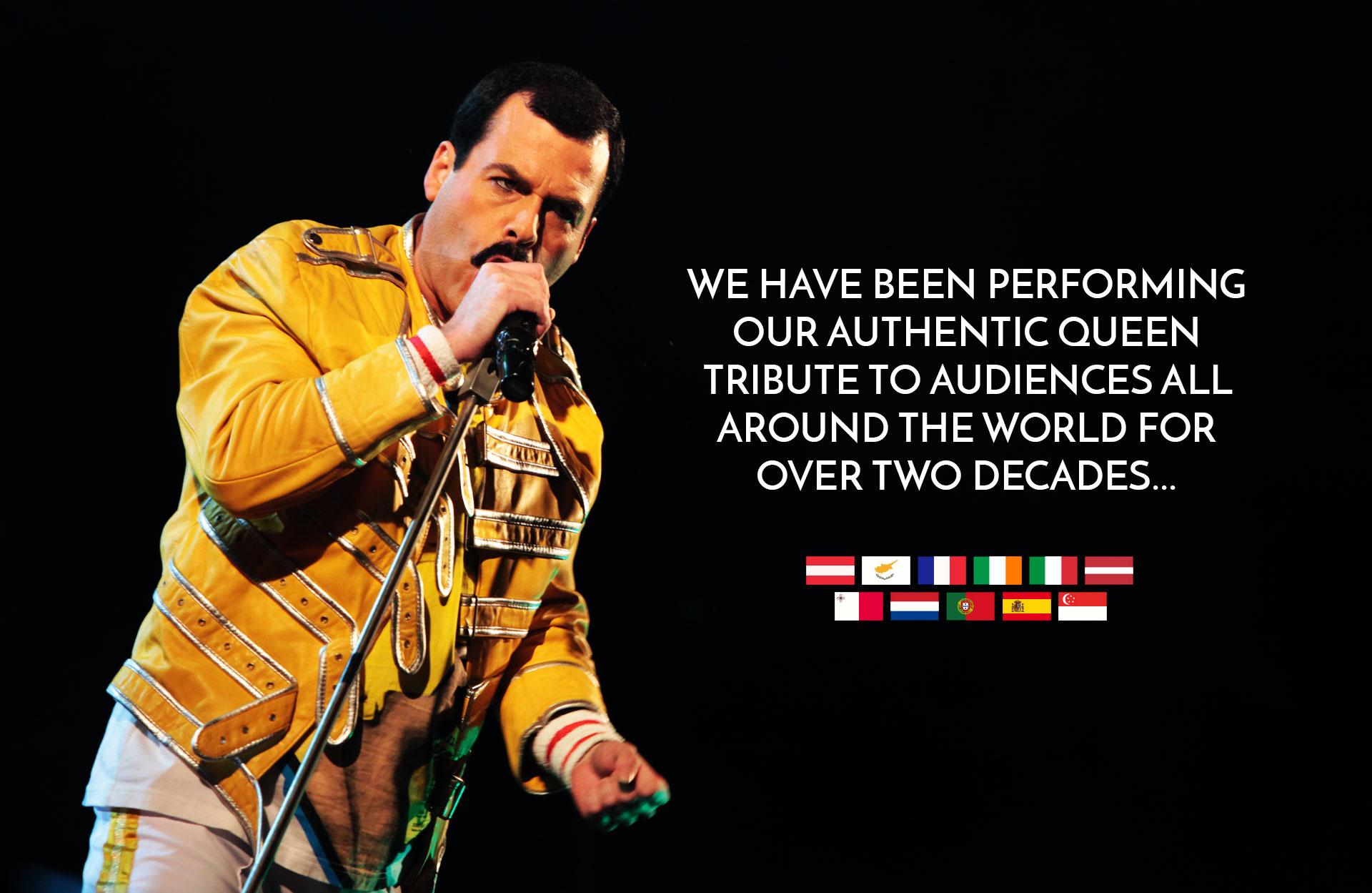 Worldwide Queen Tribute Band