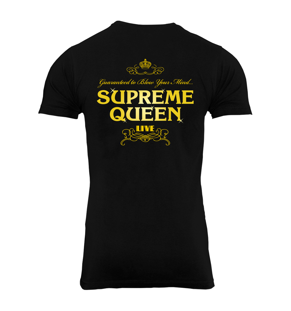 Supreme Queen T-Shirt Back